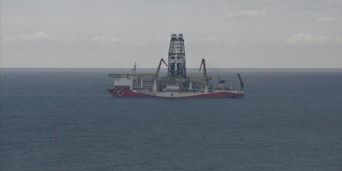 Karadeniz'de Türkali-2 kuyusunda sondaj derinliği 3 bin metreyi aştı