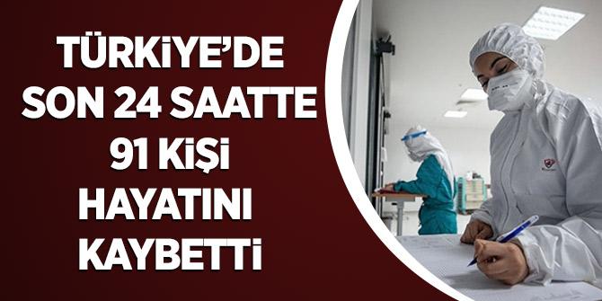 Türkiye'de Son 24 Saatte 91 Kişi Hayatını Kaybetti