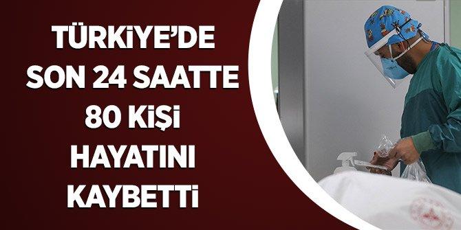 Türkiye'de Son 24 Saatte 80 Kişi Hayatını Kaybetti