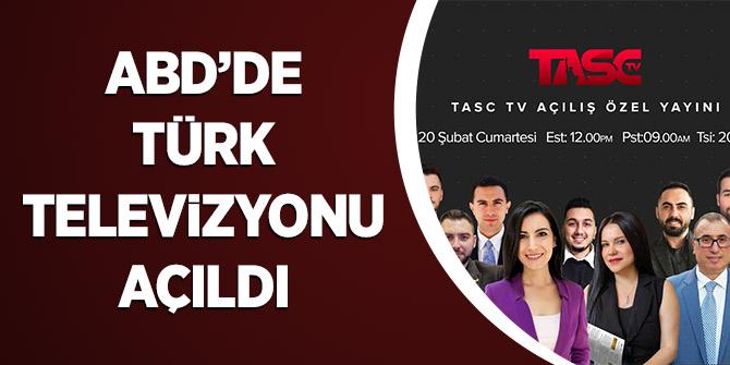 ABD'de Türk Televizyonu Açıldı