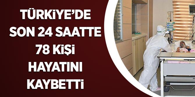 Türkiye'de Son 24 Saatte 78 Kişi Hayatını Kaybetti