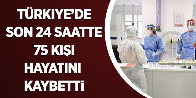 Türkiye'de Son 24 Saatte 75 Kişi Hayatını Kaybetti