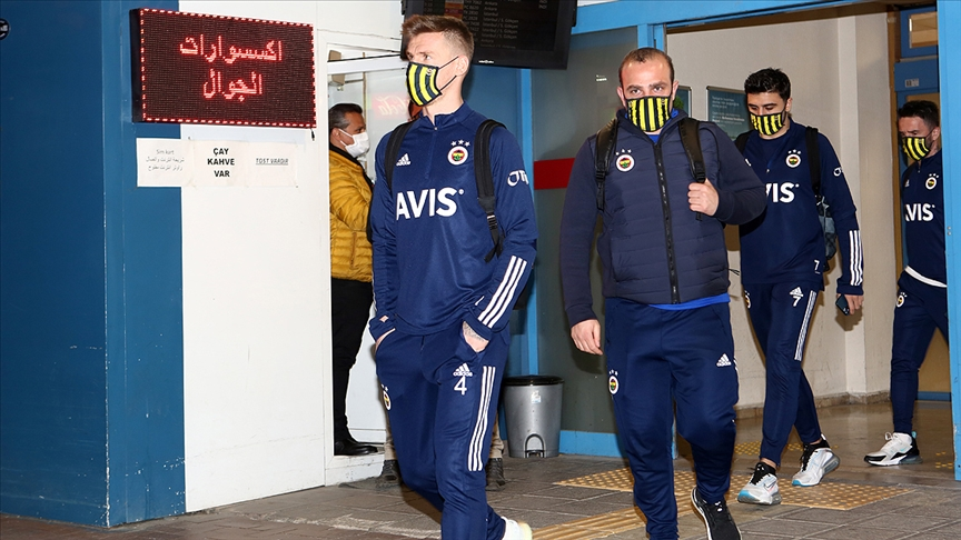 Fenerbahçe derbi için Trabzon'da!
