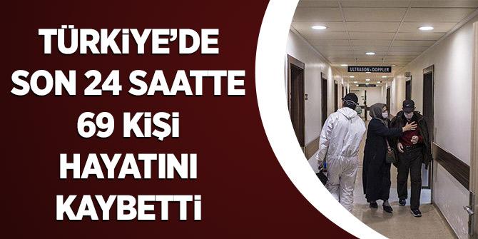 Türkiye'de Son 24 Saatte 69 Kişi Hayatını Kaybetti