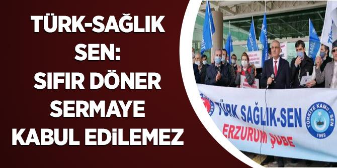 Türk Sağlık Sen: Sıfır Döner Sermaye Kabul Edilemez