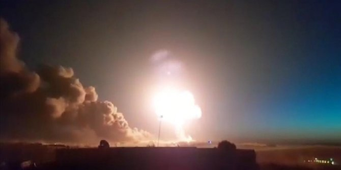 Suriye'de füze saldırısı