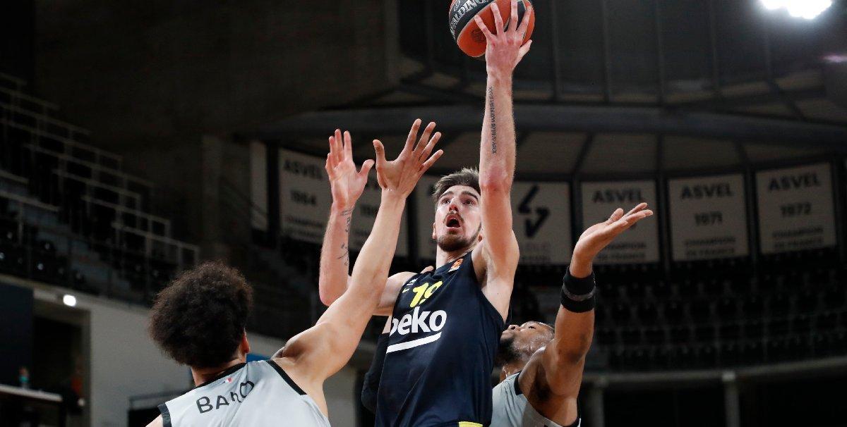 Fenerbahçe Beko ASVEL'i yıktı
