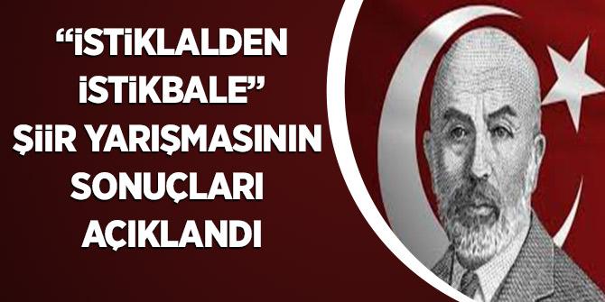 """""""İstiklalden İstikbale"""" Şiir Yarışmasının sonuçları açıklandı"""