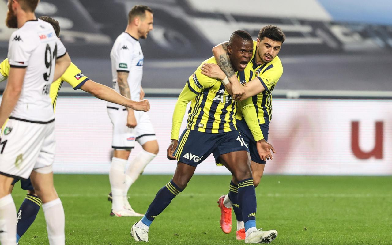 Fenerbahçe, Denizlispor'a tek attı, Üç aldı