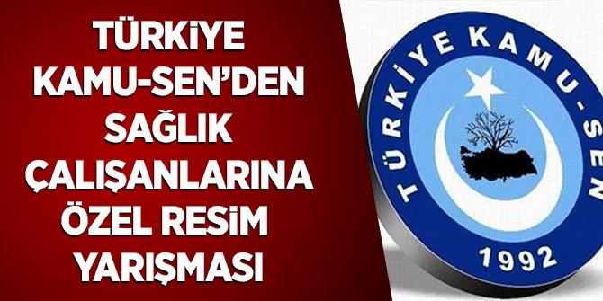 Türkiye Kamu Sen'den Sağlık Çalışanlarına Özel Resim Yarışması