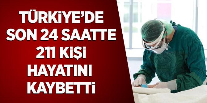 Türkiye'de Son 24 Saatte 211 Kişi Hayatını Kaybetti