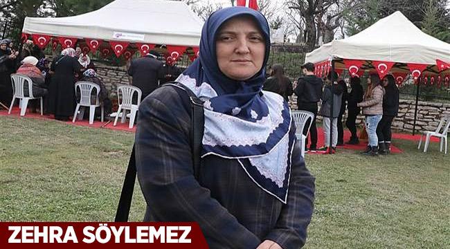 Afrin Şehidinin vasiyetindeki Zehra Teyze konuştu