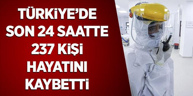 Türkiye'de Son 24 Saatte 237 Kişi Hayatını Kaybetti