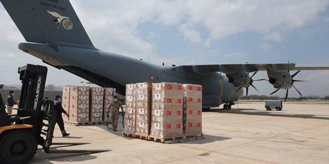 Libya'ya aşı götüren uçak Ankara'dan hareket etti