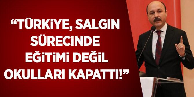 Geylan: Türkiye, Salgın Sürecinde Eğitimi Değil, Okulları Kapattı!