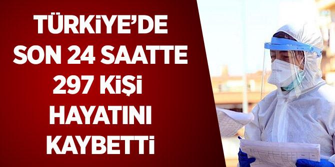 Türkiye'de Son 24 Saatte 297 Kişi Hayatını Kaybetti