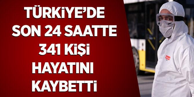 Türkiye'de Son 24 Saatte 341 Kişi Hayatını Kaybetti