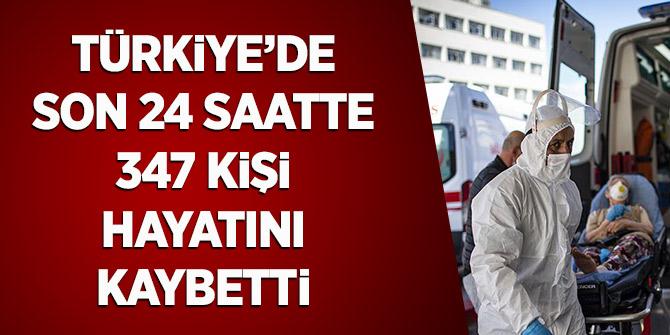 Türkiye'de Son 24 Saatte 347 Kişi Hayatını Kaybetti