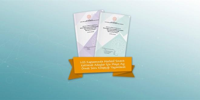 LGS Mayıs ayı örnek soru kitapçığı yayımlandı