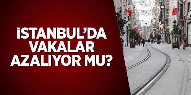 İstanbul'da vakalar azalıyor mu?