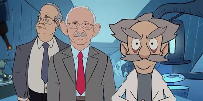 AK Parti animasyon yayımladı: Yalan üretim merkezi