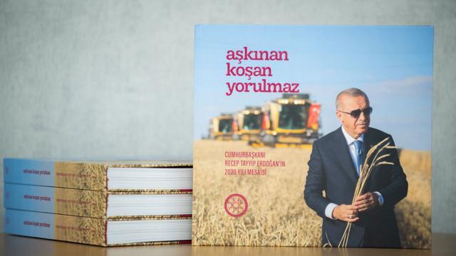 Erdoğan'ın 2020 mesaisini anlatan kitap hazır