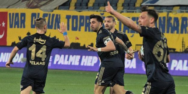 Fenerbahçe son dakika golüyle güldü