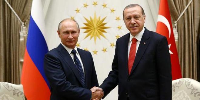 Erdoğan Putin ile Sputnik V aşısının sevkini ve Filistin'i görüştü