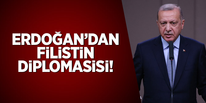Erdoğan'dan Filistin diplomasisi