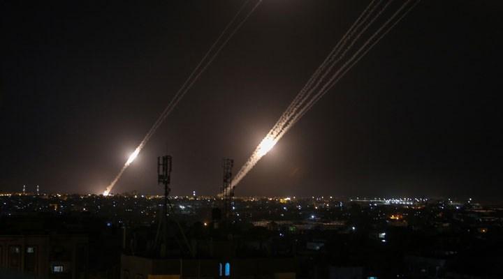 İşgalci İsrail'e Lübnan'dan roket saldırı