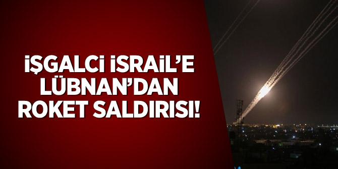 İşgalci İsrail'e Lübnan'dan roket saldırısı