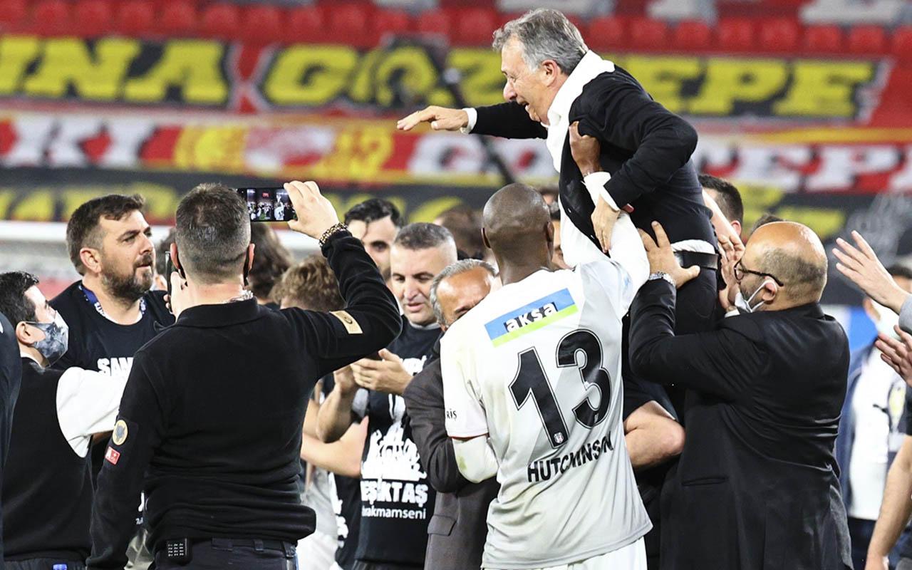 Beşiktaş'tan şampiyonluk paylaşımı!
