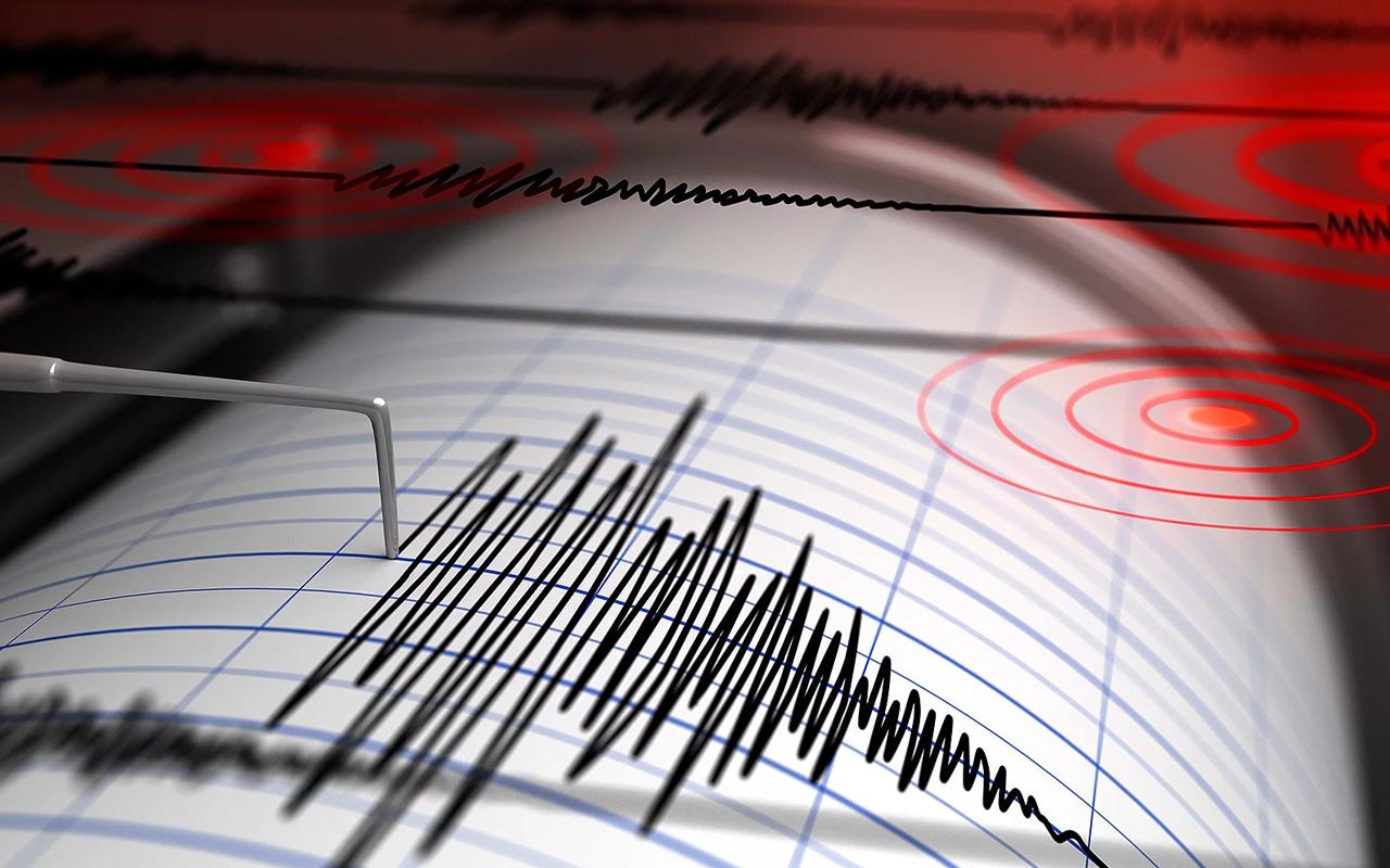 Muğla Datça açıklarında 4.1 büyüklüğünde deprem