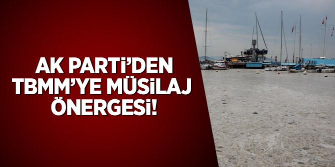 AK Parti'den TBMM'ye müsilaj önergesi