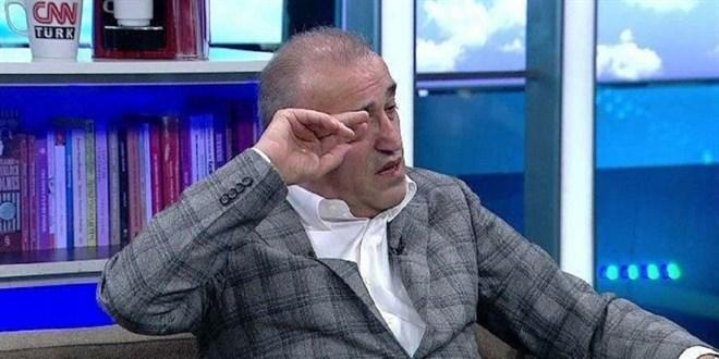 Abdurrahim Albayrak, gözyaşları içinde yayını terk etti