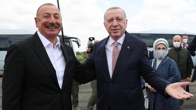 Cumhurbaşkanı Erdoğan'dan tarihi ziyaret