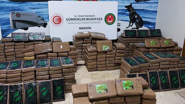 Bakan Muş: 463 kilogram kokain ele geçirildi