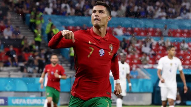 Cristiano Ronaldo'dan bir rekor daha