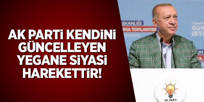 Erdoğan: AK Parti kendini güncelleyen yegane siyasi harekettir