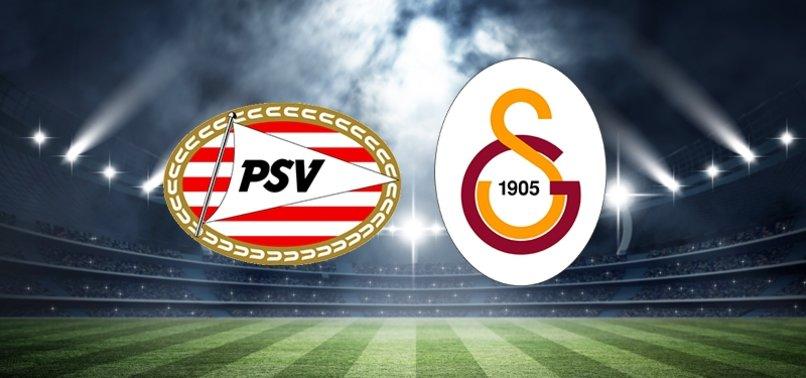 PSV-Galatasaray maçı saat kaçta, hangi kanalda?