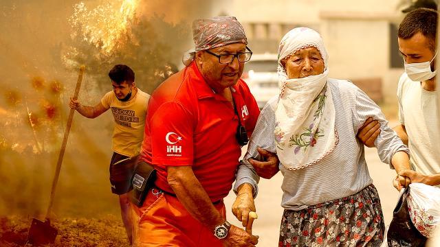 Türkiye'nin 'ciğerleri' yanıyor: 7 ilde 12 noktada orman yangını