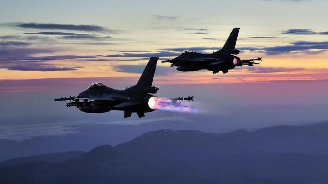Irak'ın kuzeyine hava harekatı: 40 hedef imha edildi