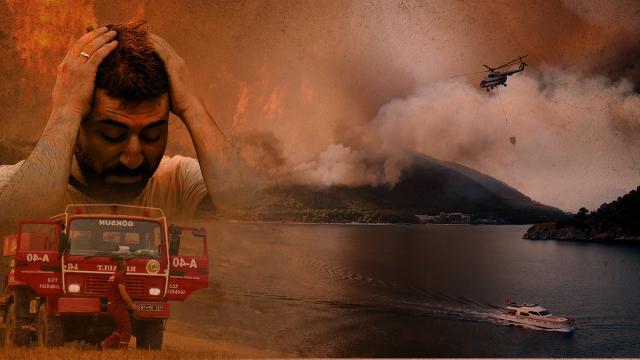 Bakan Pakdemirli: Tüm yangınlarda iyiye doğru gidiş var