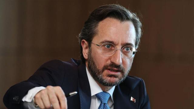 Fahrettin Altun: Amaç devletimizi zayıf göstermek
