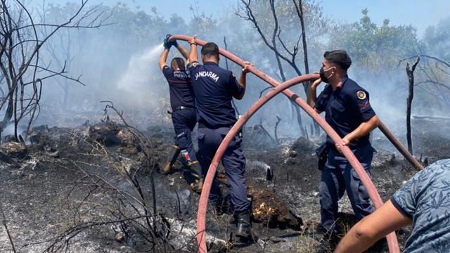 Jandarma, orman yangınlarına 2310 personelle müdahale ediyor