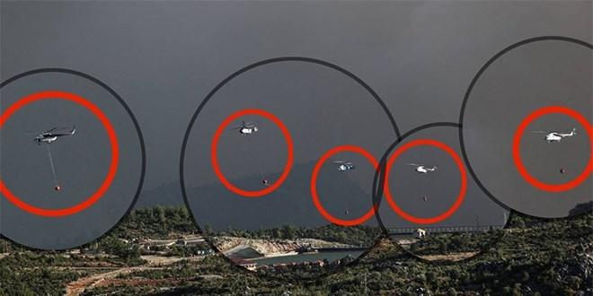 CHP'li vekil 'Vallahi helikopter görmedik' deyince, bu görsel paylaşıldı