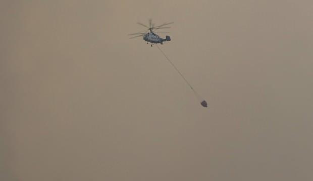 'Helikopter düştü' iddiaları yalanlandı