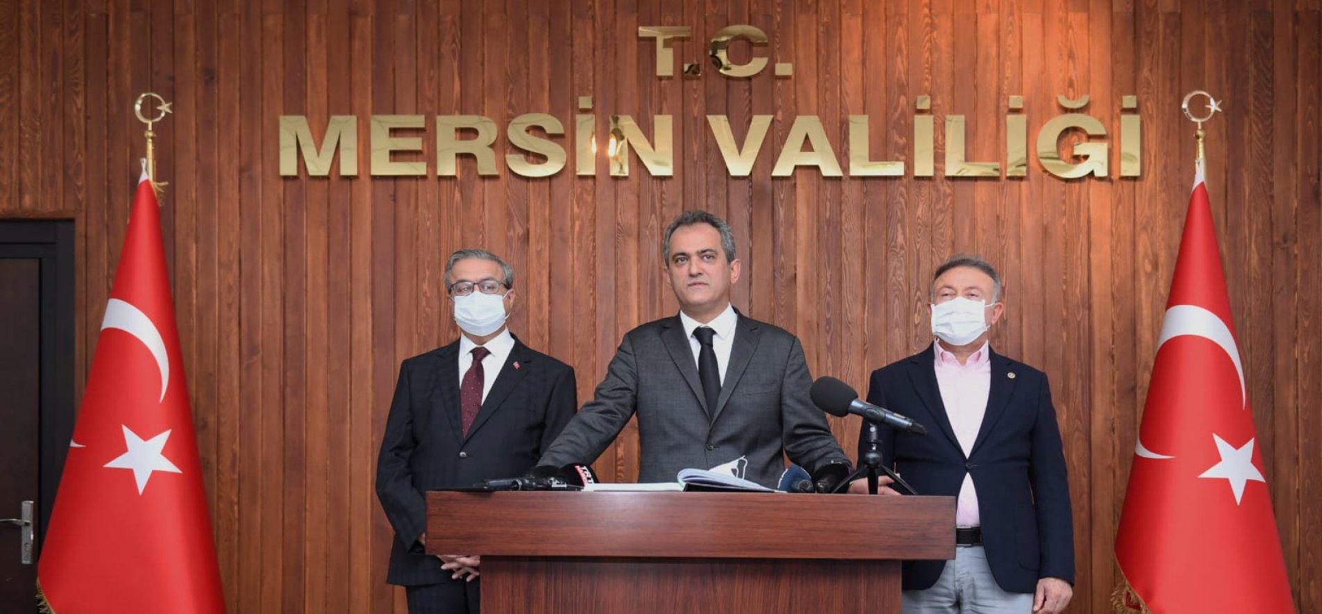 Milli Eğitim Bakanı Mahmut Özer'den yüz yüze eğitim açıklaması!