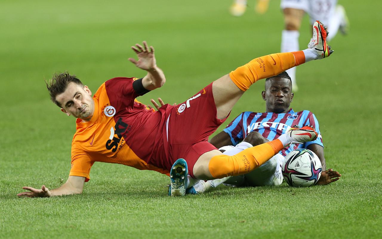 Trabzonspor Galatasaray maçında kazanan çıkmadı