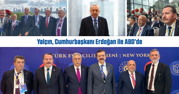 Ali Yalçın, Cumhurbaşkanı Erdoğan İle ABD'de